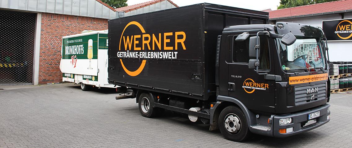 Leistungen - Werner Getränke Erlebnisswelt